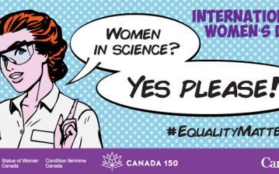 #SheInspiresMe – Laurentian SETAC celebrates International Women's Day