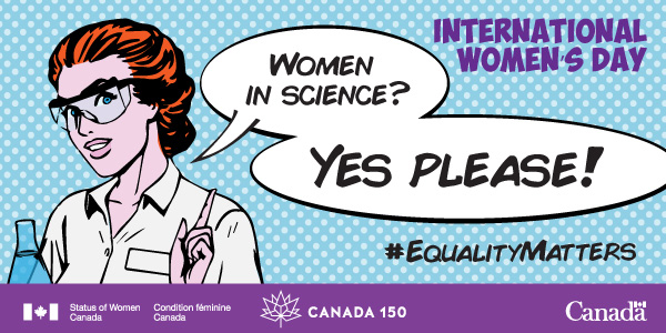 #SheInspiresMe – Laurentian SETAC celebrates International Women's Day